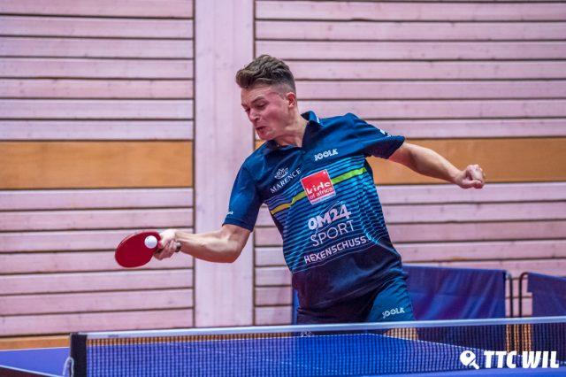 Elia Schmid und Matiss Burgis  gewannen alle ihre Einzelpartien